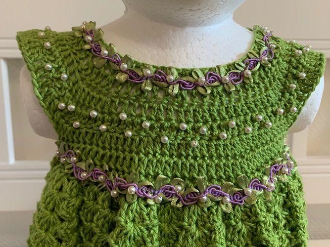 Makerist - festliches Sommerkleidchen (2-3 Jahre) - Häkelprojekte - 2