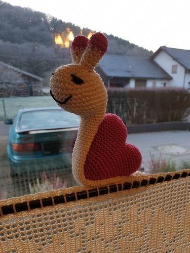 Makerist - Liebesschnecke aus Makeristkurs mit P. Kohlstädt - Häkelprojekte - 1