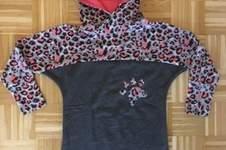 Makerist - Fledermaus  Shirt als Kleid mit Katzenkapuze  - 1
