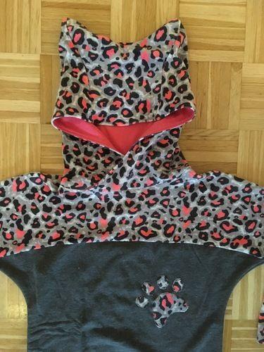 Makerist - Fledermaus  Shirt als Kleid mit Katzenkapuze  - Nähprojekte - 2