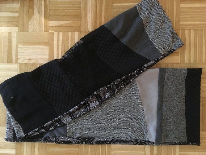 Makerist - Resteverwertung Patchwork Schal  - Nähprojekte - 3
