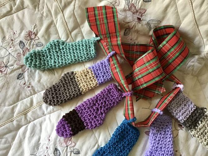 Makerist - Mini Holiday Stockings - Crochet Showcase - 1