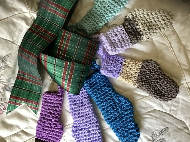 Makerist - Mini Holiday Stockings - Crochet Showcase - 2