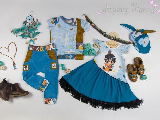 Makerist - Indianer-Kleidchen - Nähprojekte - 1