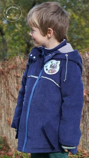 Makerist - Winterjacke für meinen Sohn  - 1