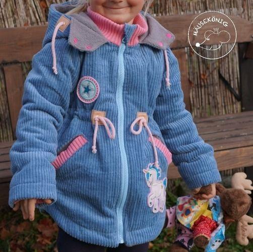 Makerist - Winterjacke für meine Tochter - Nähprojekte - 1