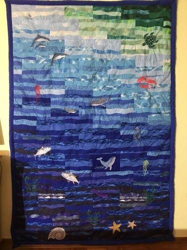 Makerist - Patchworkdecke für meinen 9 jährigem Enkel - Nähprojekte - 1