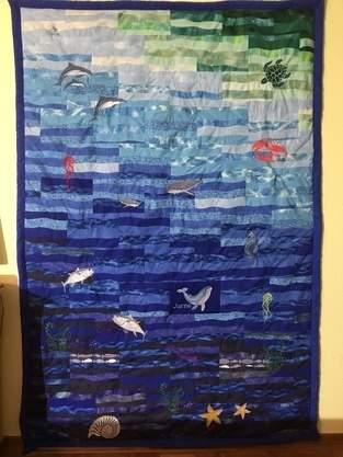Makerist - Patchworkdecke für meinen 9 jährigem Enkel - 1