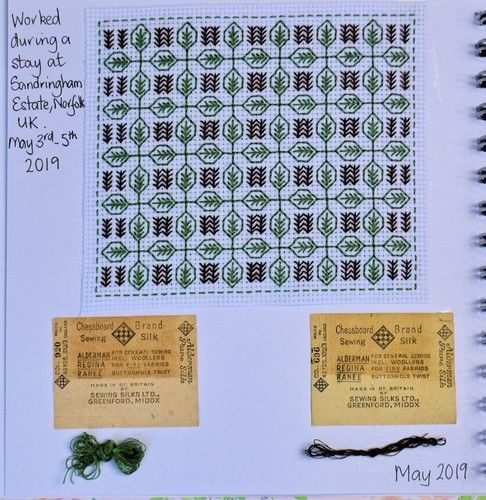 Makerist - Stitching Project - Blackwork Journal - May 2019 - Sewing Showcase - 2