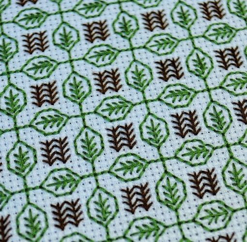 Makerist - Stitching Project - Blackwork Journal - May 2019 - Sewing Showcase - 3