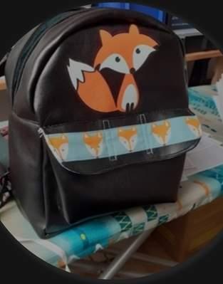 Makerist - Kindergartenrucksack Fox - 1