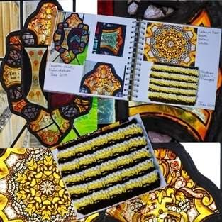 Makerist - Stitching Projects - Blackwork Journal - June 2019 - 1