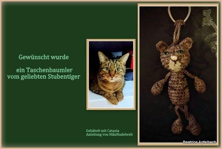 "Makerist - Taschenbaumler ""Stubentiger"" - Häkelprojekte - 1"