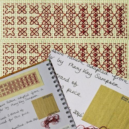 Makerist - Stitching Projects - Blackwork Journal - July 2019 - Sewing Showcase - 1