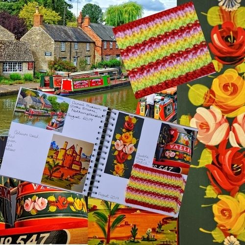 Makerist - Knitting Journal - August 2019 - Canal Museum, Northamptonshire, Uk - Knitting Showcase - 1
