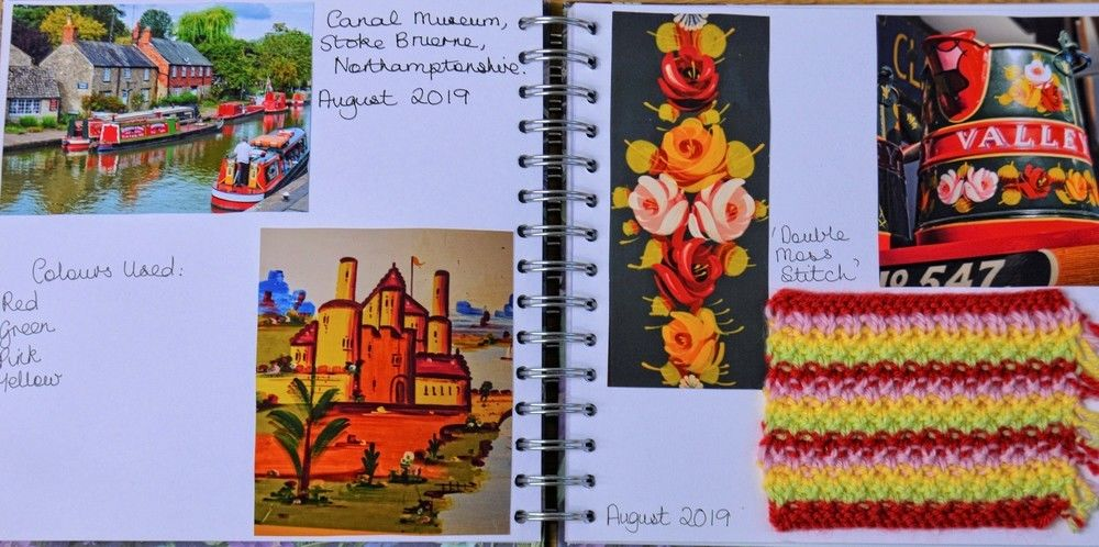 Makerist - Knitting Journal - August 2019 - Canal Museum, Northamptonshire, Uk - Knitting Showcase - 2