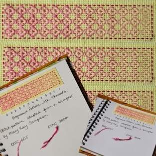Makerist - Stitching Projects - Blackwork Journal - August 2019 - 1