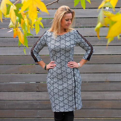 Makerist - Kleid Sarana von Schnittmusterlounge - Nähprojekte - 3