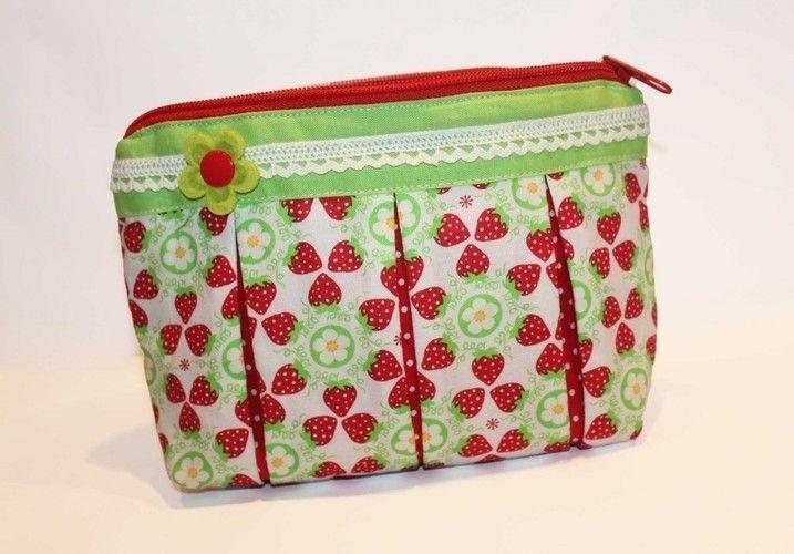 Makerist - Süßes Früchtchen   Kosmetiktasche  - Nähprojekte - 1