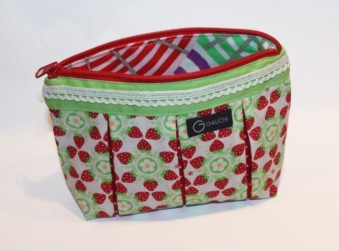 Makerist - Süßes Früchtchen   Kosmetiktasche  - Nähprojekte - 2