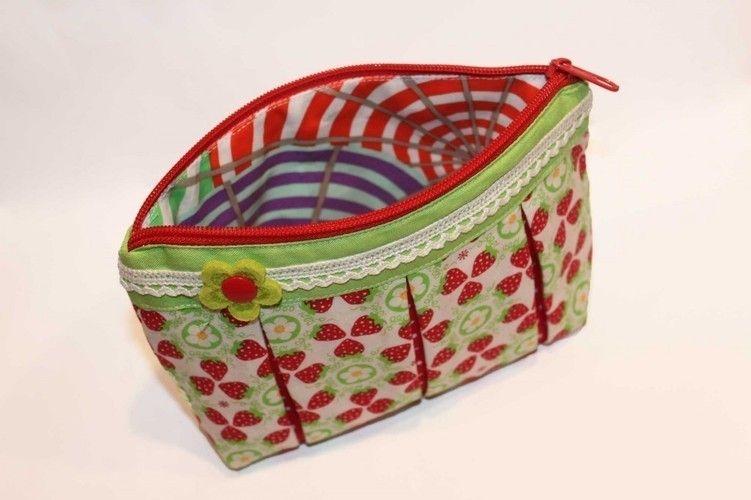 Makerist - Süßes Früchtchen   Kosmetiktasche  - Nähprojekte - 3