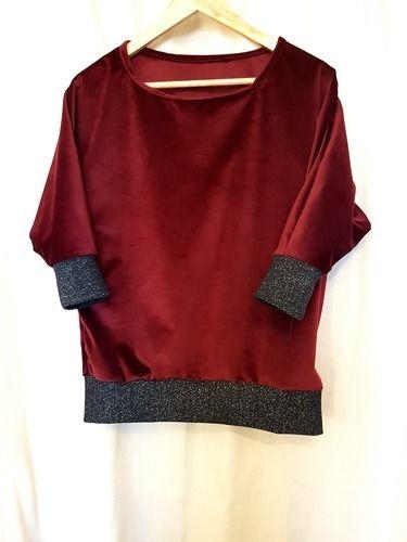 Makerist - Top velour - Créations de couture - 1