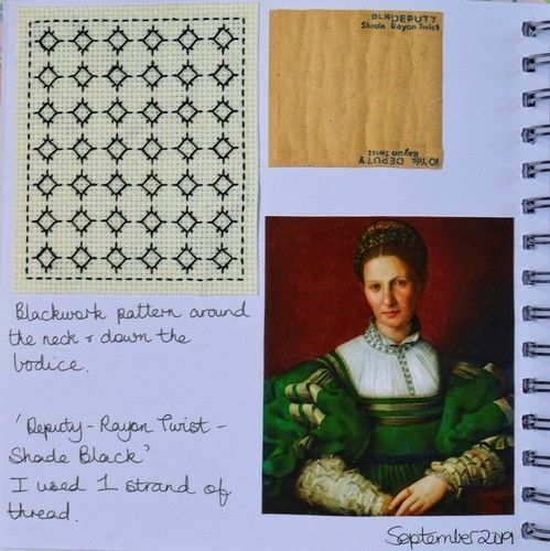 Makerist - Stitching Projects - Blackwork Journal - September 2019 - Sewing Showcase - 2