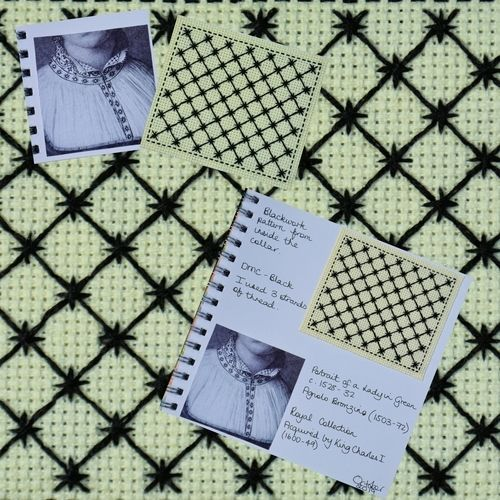 Makerist - Stitching Projects - Blackwork Journal - October 2019 - Sewing Showcase - 1