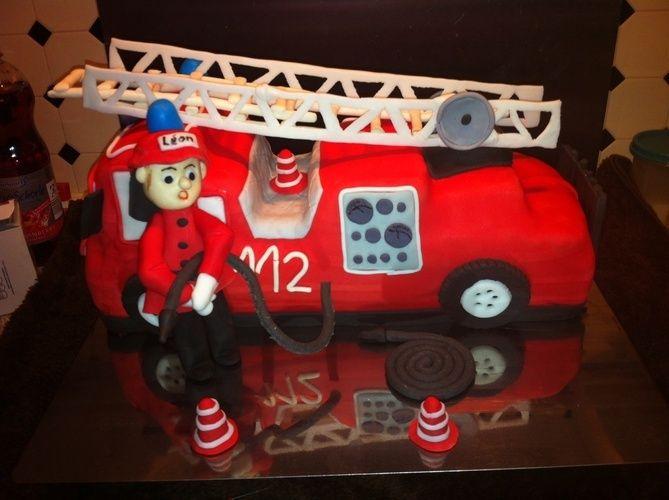 Makerist - Feuerwehr torte - Torten, Cake Pops und Cupcakes - 2