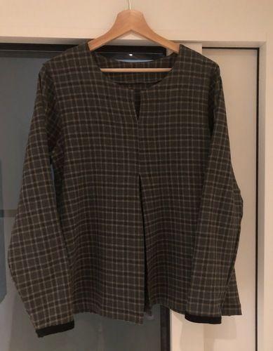 Makerist - Eine Bluse für das Weihnachtsfest  - Nähprojekte - 1