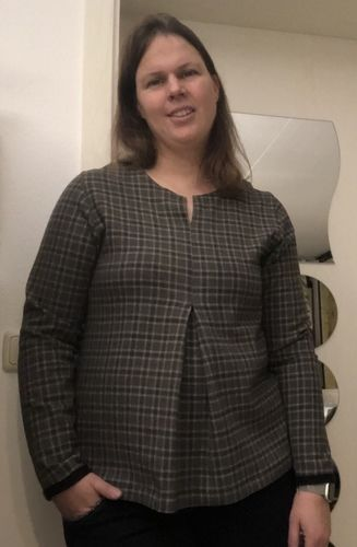 Makerist - Eine Bluse für das Weihnachtsfest  - Nähprojekte - 2