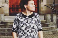 Makerist - Basic Pulli Curvy von Lotte und Ludwig als festliches Shirt - 1