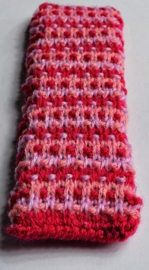 Makerist - Speckle Rib Stitch Knitted Bookmark - 1