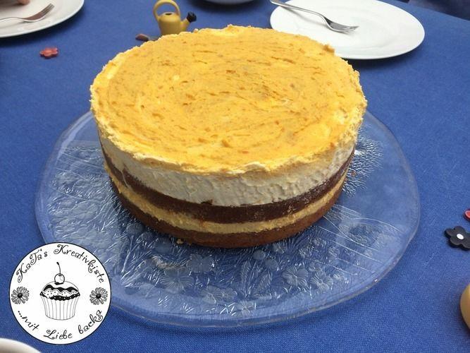Makerist - Kürbistorte mit Walnüssen und Kürbis-Zimt-Creme - Torten, Cake Pops und Cupcakes - 2
