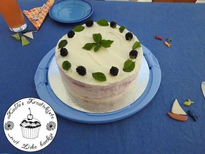 Makerist - Mohntorte mit Brombeer-Joghurtsahne - Torten, Cake Pops und Cupcakes - 2