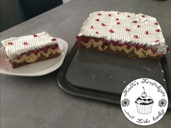Makerist - Rhabarber-Donauwelle  - Torten, Cake Pops und Cupcakes - 2