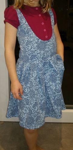 Makerist - Kleid Kaylee Schuleinführung - Nähprojekte - 1