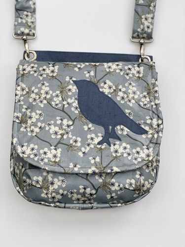 Makerist - LALE mit birdie, die saddlebag - Nähprojekte - 1