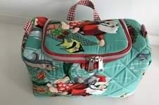 Makerist - Weihnachts MINILU - Kulturtasche zum Aufhängen  - 1