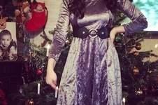 """Makerist - Weihnachtskleid """"London"""" aus Samt - 1"""