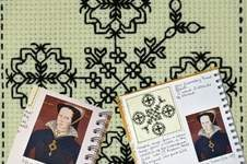 Makerist - Stitching Project - Blackwork Journal - November 2019 - 1