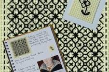 Makerist - Stitching Projects - Blackwork Journal - December 2019 - 1