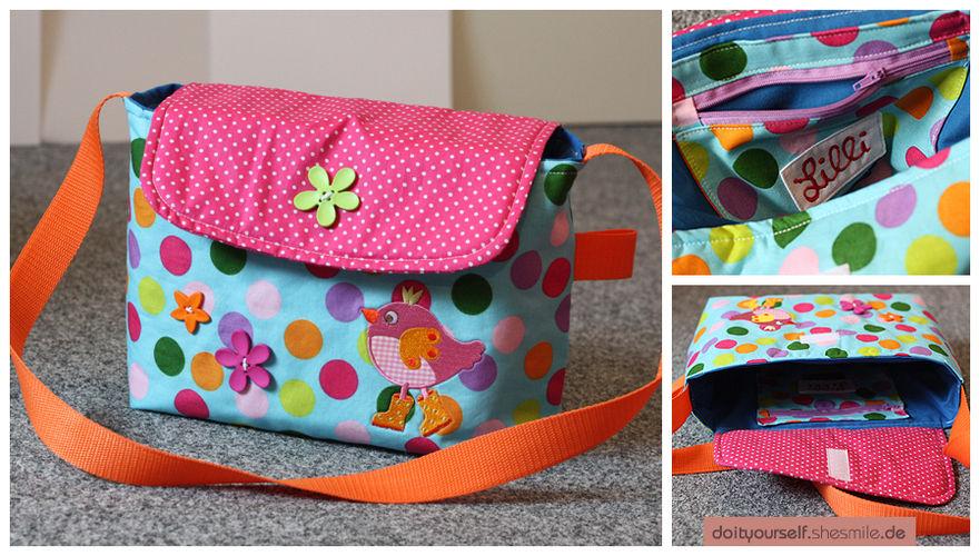 Makerist - Kindergarten-Tasche für mein Tochter - Nähprojekte - 1