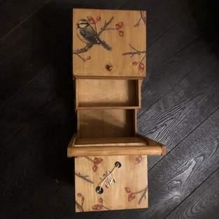 Makerist - Nähkästchen mit Serviettentechnik - 1