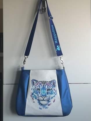 Makerist - Kuschel-Leopard für kalte Hände - Muff-Tasche Liv - 1