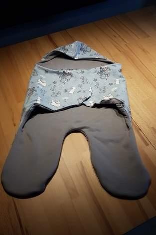 Makerist - Baby Einschlagdecke - 1