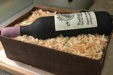 Makerist - Weinflasche in Holzbox mit Holzspänen - 1