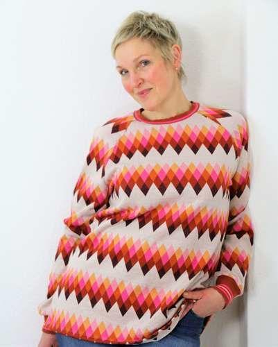 Makerist - Raglan-Sweater Kjella - Nähprojekte - 1