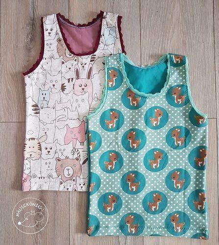 Makerist - Unterhemdchen für meine Tochter - Nähprojekte - 1