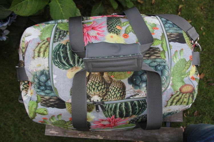 Makerist - LUDWIG, meine Reisetasche - Nähprojekte - 2